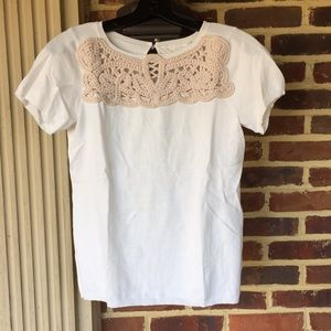 Anthropologie knot detail shirt- Mint Condition.